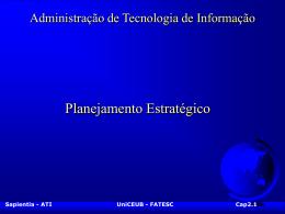 Administração de Tecnologia de Informação