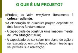 8. PROJETO DE PESQUISA