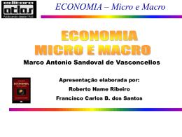 ECONOMIA – Micro e Macro