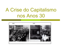 4º Aula Crise de 1929 - Professor