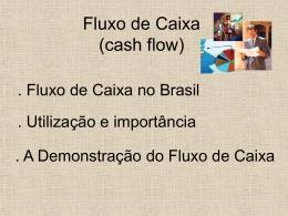 Fluxo de Caixa (cash flow)