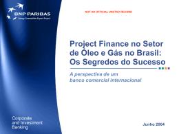 BNP Paribas Project Finance Brasil