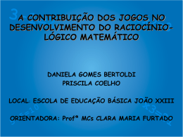 A Contribuição dos Jogos No Desenvolvimento do