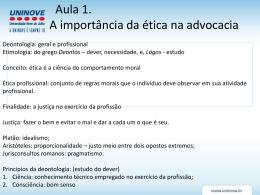 AULA 1 a 3 - Professora Patricia Martinez