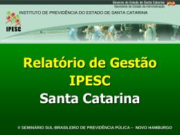 Histórico Criação do IPESC