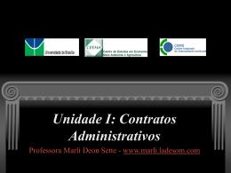 Contratos Administrativos - Direito Ambiental