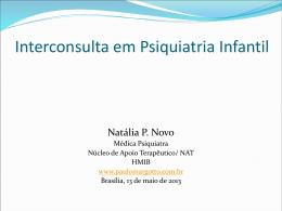 Interconsulta em Psiquiatria Infantil