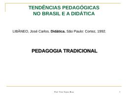 tendências pedagógicas no brasil e a didática
