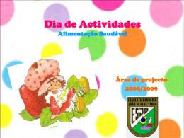 actividade com crianças