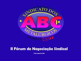 Perspectivas da Negociação Coletiva – Sérgio Nobre