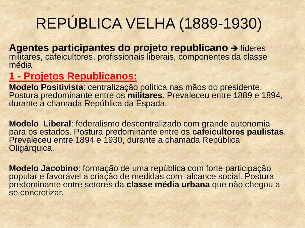 REPUBLICA VELHA 1889 A 1930 DOWNLOAD