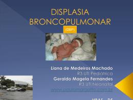Displasia broncopulmonar (Apresentação)