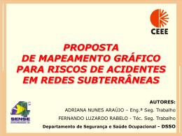 proposta de mapeamento gráfico na identificação dos riscos