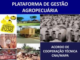 plataforma de gestão da agropecuária