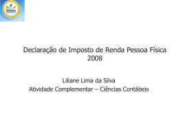 Exercício 2008