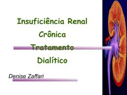 Insuficiência Renal Crônica Tratamento Dialítico