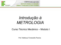 metrol - apresentação