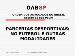 PARCERIA - IBDD - Instituto Brasileiro de Direito Desportivo