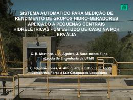 sistema automático para medição de - CPH