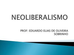 NEOLIBERALISMO - Colégio Cor Jesu