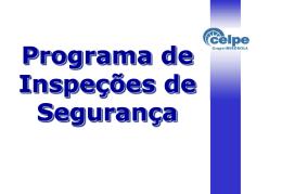 programa de inspeção de segurança do trabalho