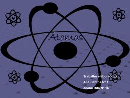 Os átomos e as nuvens electrónicas