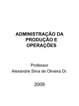 cad130 - adm. da prod. e operações ii