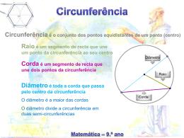 Estudo das Circunferências