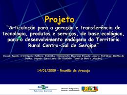Reunião de Aracaju