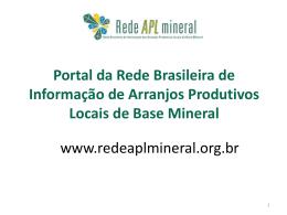 Portal da Rede Brasileira de Informação de
