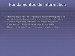 Teoria Geral de Sistemas Bacharelado em Sistemas de Informação