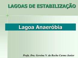 Lagoas Anaeróbias - Departamento de Engenharia Ambiental
