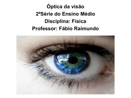 1 – O olho humano - Colégio Energia Barreiros