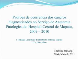 Thebora - III Jornadas Cientificas do HCM 2015