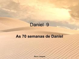 As 70 semanas de Daniel
