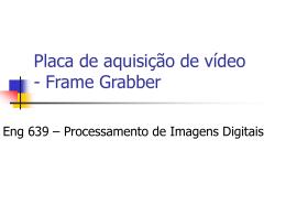 Placa de aquisição de vídeo