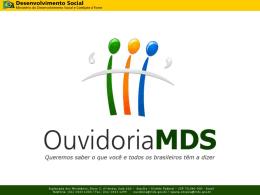 Ouvidoria MDS