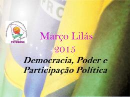 Democracia, Poder e Participação Política