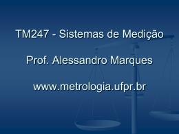 Slide 1 - Laboratório de Metrologia