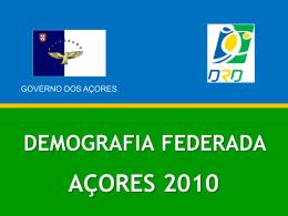 Demografia federada 2010 - conferência de