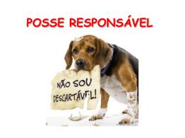 Apresentação: Posse Responsável