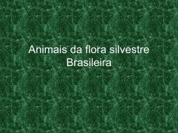 Animais da flora silvestre Brasileira