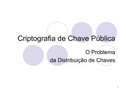 Criptografia-Chave
