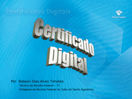 Certificado Digital - CRC-PE