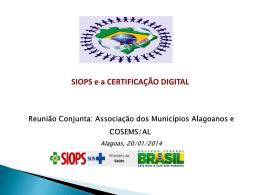 SIOPS Certificação Digital