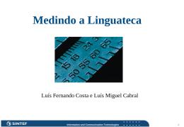 Informação - Linguateca