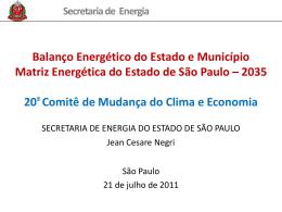 energia - Prefeitura de São Paulo