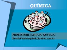 QUÍMICA - Colégio Instituto Itapoa