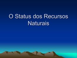 5. status dos recursos