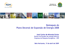 PlanoDecenaldeExpansaodaEnergia - ABEE-MG